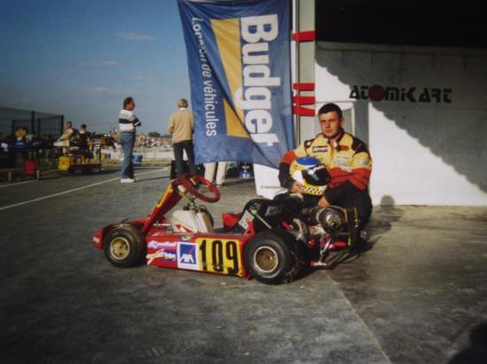 Trophée KARTMAG 1998 N100. Châssis TECHNO/ MOTEUR  ITALSISTEM.