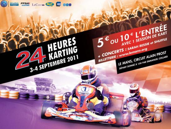 24 H du Mans karting 2011