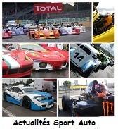 Reportages diverses, news du sport Auto en général et loisirs créatifs avec le t2r Compétition.
