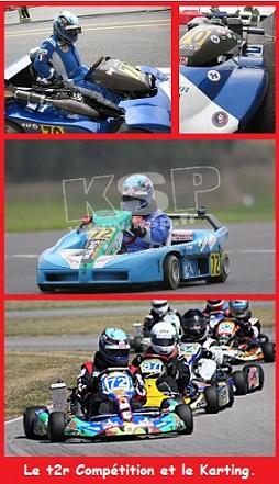 Espace karting et le t2r Compétition à ces débuts.