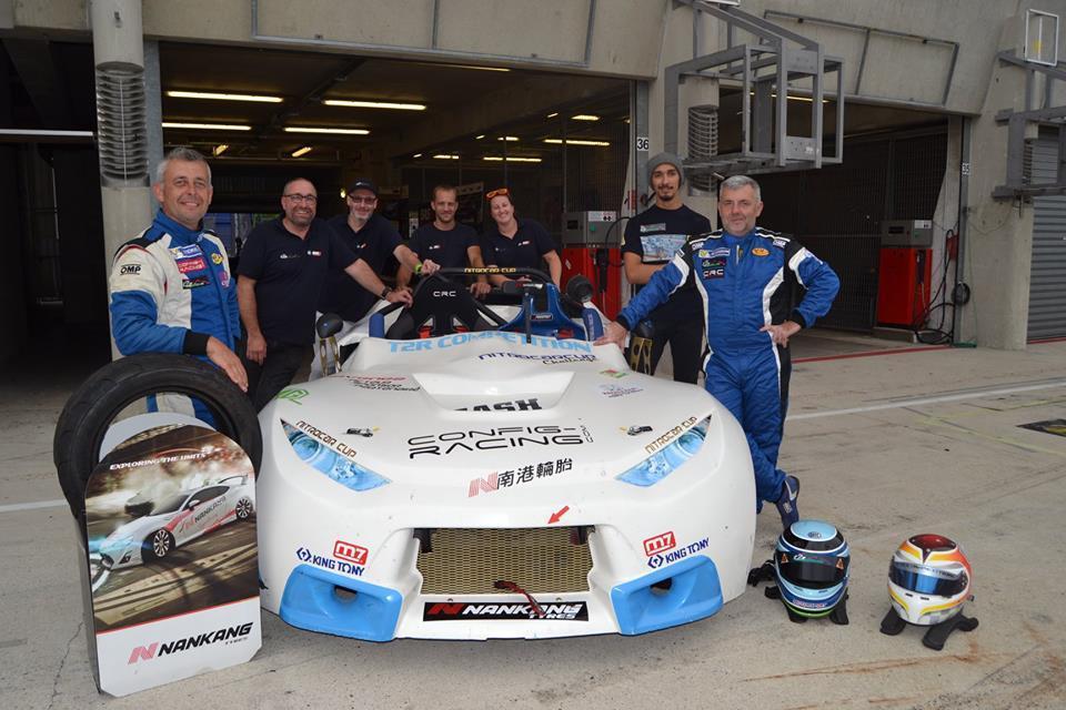 Le Team, le staff et ces pilotes.